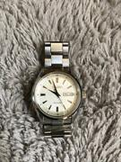 Seiko Presage Sary055 Discontinued Day Date Japan Automatic Mens Watch Authentic