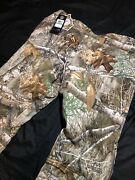 🔥 Sz Large Under Armour Storm Camo Pants Overalls Hunting Fishing Size L New Ca