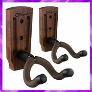 Guitar Hanger Keeper Wall Hook Stand For Acoustic Electric Bass 2 Pack Snigjat