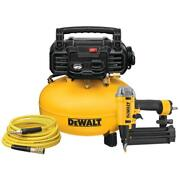 6 Gal. 18-gauge Brad Nailer And Heavy-duty Pancake Electric Air Compressor Combo
