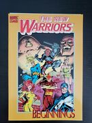 Marvel Comics New Warriors 1 Thor 411 And 412 Reprints In Tpb Beginnings Nm