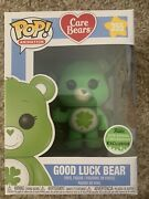 Funko Pop 2018 Spring Convention Exclusive Good Luck Bear Care Bears 355