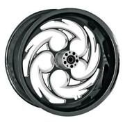 Rc Components 18550-9210a-85e Savage Eclipse Rear Wheel - 18x5.5in. Black