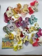 My Little Pony Vintage G1 Lot Of 17 Posey Creamsicle