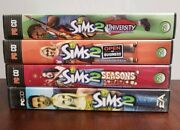 The Sims 2 Original, University, Seaons Expansion Pack, Open For Business Pc