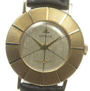 Jaeger-lecoultre Antique Manual Winding Silver Dial Men's Watch Pre Owned U0523