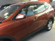 13 Hyundai Santa Fe Driver Front Door Automatic Up And Down Feature Orange