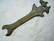 Antique Bradley Cultivator U12 Farm Tractor Implement 10 Wrench Tool