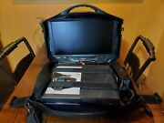 Vanguard, Game Console Case,monitor With Xbox 1 Games And Accessories