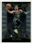 2018-19 Panini Select Concourse Level Trae Young Rookie Rc 45 Hawks Atlanta Qty