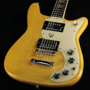 Electric Guitar Epiphone Wilshire Natural Fret 30-40 Rare Made In Japan Used