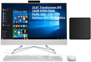 Hp 23.8 All-in-one Ips Fhd Wled-backlit Touchscreen Desktop | Core I5-1035g1 |