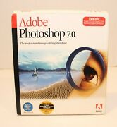 Adobe Photoshop 7.0 For Mac Upgrade Disc And User Guide Serial Number Included