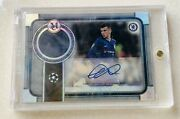 2019-20 Topps Museum Collection Uefa Mason Mount Rookie Auto Patch 130/199 Sp🔥