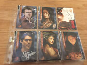 Firefly/serenity Signed Trading Cards Morena Baccarin,nathan Fillion,sean,jewe