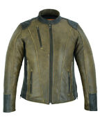 Motorcycle Jacket Womenand039s Dressed To The Nine By Daniel Smart Ds830