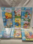 Little Touch Leap Pad Leapfrog Book And Cartridge Lot Of 9