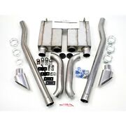 Jba For 2.5 Exhaust System 65-70 Mustang Coupe/fastback Eleanor Side Exhaust
