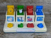 Vintage And Collectable1984 Retro Pop Up Zoo Learning Toy By Shelcore Inc. Elc