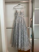Bridal Wedding Gown Evening Gown Engagement Dress Size Small