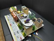 Custom Kato N Scale City Layout For Railroad With Helico And A Lot Of Feature