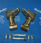 Drop Downs For Upper Trailing Arms, G-body / Lincoln, Lowrider, Black Magic Hyd.