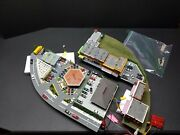 Custom Kato N Scale City Layout For Railroad With Restorants And A Lot Of Featur