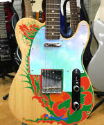 Fender Electric Guitar Jimmy Page Tele Rw Nat 5418