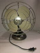 Vintage Emerson Electric Oscillating Fan Single Speed Smooth
