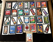 Vintage 1970's Topps Wacky Packages Trading Cards 29 Cards