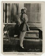 Corinne Griffith In The Garden Of Eden 1928 Cheesecake Alluring Pose Photo 448