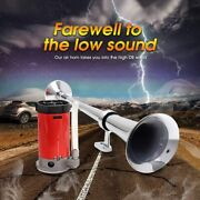 150db Trumpet Train Air Compressor Air Horn Kit Air System For Truck Motorcycle