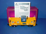 Mth -  20 - 91050 - Ontario  Northland  Extended Vision Caboose