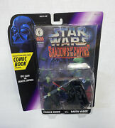 Star Wars Comic Book Pack Shadows Of The Empire Xizor Darth Vader Action Figure