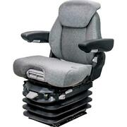 Fits Case Ih 5100-5200 Series Maxxum Km 1061 Seat And Air Suspension - Gray Fabric