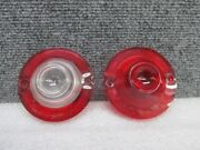 1960 61 Chevy Corvair Tail Light Brake Stop Light Lens And Reverse Back Up Lens