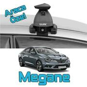 Paw Lockable Aluminium Roof Bars For Cars With Standard Roof For Renault Megane