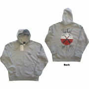 Pink Floyd The Wall Faded Hammers Logo Official Unisex Hoodie Hooded Top