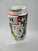 Ok Soda Can 1994 Failed Coke Cola Product Boy Pictured Near Mint Condition