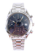 Omega Speedmaster Chronograph Automatic Date Watch 3511.80 Blue Dial W/box