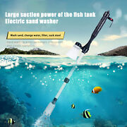Siphon Pump Adjustable Water Exchange Cleaning Tool Durable For Swimming Pool
