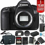 Canon Eos 5ds R Digital Slr Camera Body Only- Bundle With 32gb Memory Card +
