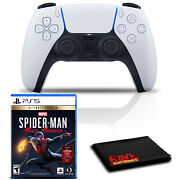 Playstation 5 Dualsense Wireless Controller With Spider-man Miles Morales