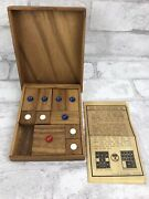 Vintage Wood Khun Pan Escapes From Jail Chinese Puzzle Brain Game Challenging