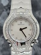 Tag Heuer Alter Ego Stainless Steel Womenand039s Watch W/mother Of Pearl And Diamonds