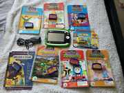 Leapfrog Leappad 2 System Tablet Tested W Power Cord And 8 Books And Games