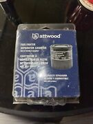 New Attwood Marine Boat Fuel Water Separator Canister Double Gasket 11841-4