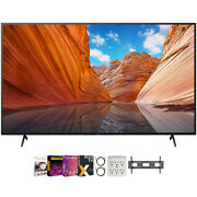 Sony 43 X80j 4k Ultra Hd Led Smart Tv 2021 Model With Movies Streaming Pack