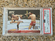 Psa 8 Gsp 2009 Topps Ufc Round 1 Silver Georges St Pierre Rc /288