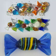 Art Vintage Murano Glass Sweets Candy Crafts Wedding Party Home Ornament Gifts